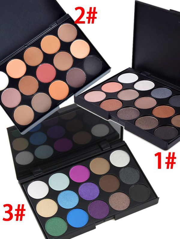 15 Colours Shimmer Matte Eyeshadow Palette