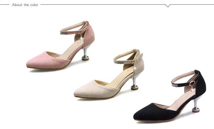 Stiletto Heel Two-Piece Pumps