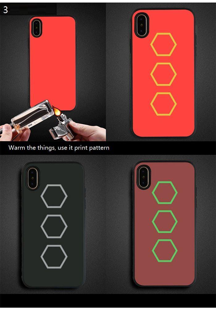 Soft Heat Sensitive Phone Case For Iphone