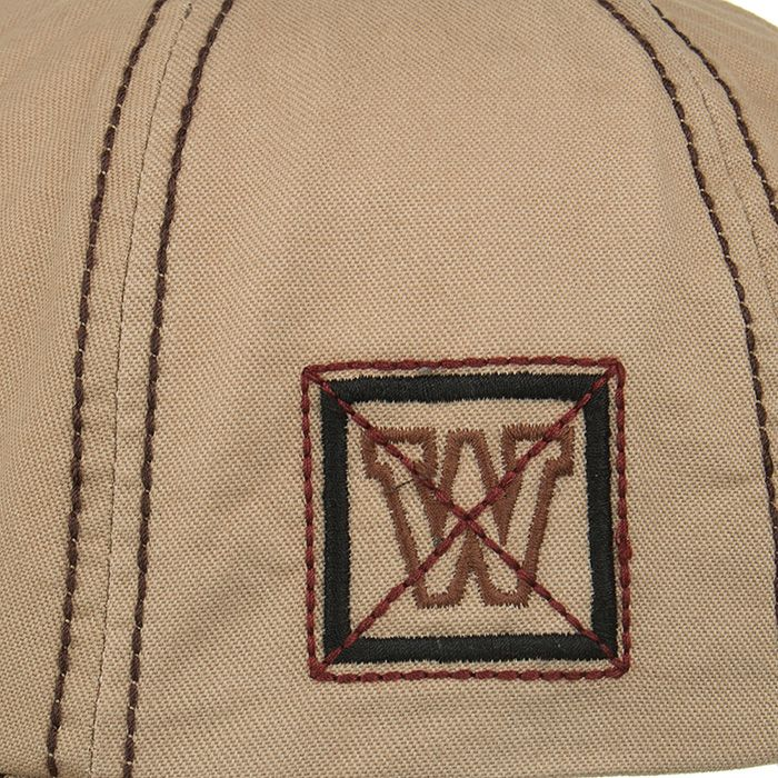 Unique W Embroidery Adjustable Baseball Cap