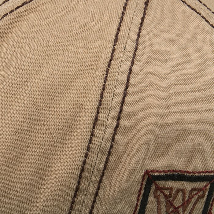 Unique W Embroidery Adjustable Baseball Cap