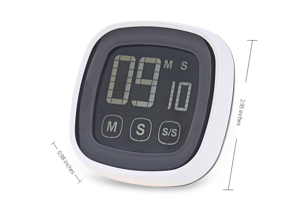 TS - BN54 Touch Screen Kitchen Timer Buzzer Alarm with LED Backlight