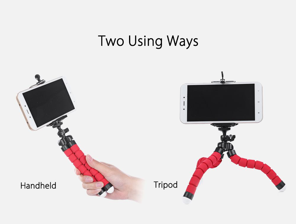 SHOOT Rotation Tripod Desktop Handle Stabilizer for Phone Action Camera