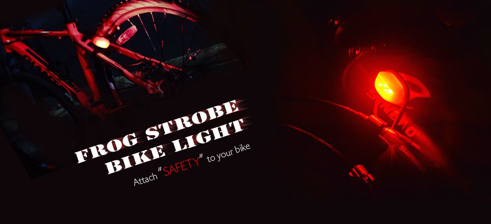 Water-resistant Silicone Bicycle Front Light Bike Safety LED Lamp