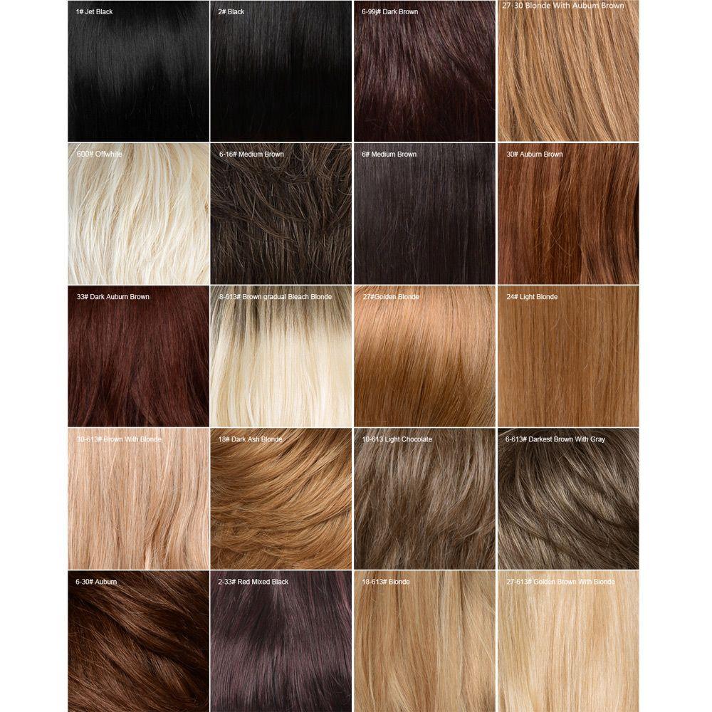 Long Side Fringe Straight Human Hair Wig